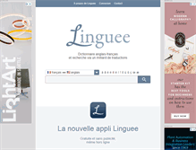 Tablet Preview of linguee.fr